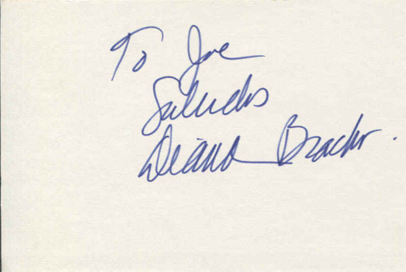Image 1 for Diana Bracho - Autograph Note Signed - HFSID 347132