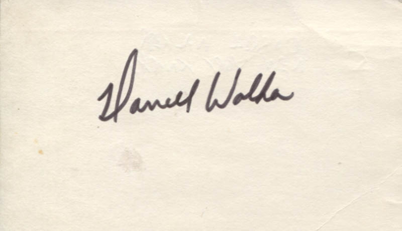 Image 1 for Darrell Walker - Autograph - HFSID 347319