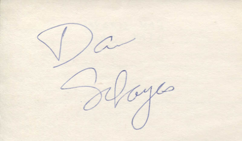 Image 1 for Danny Schayes - Autograph - HFSID 347342