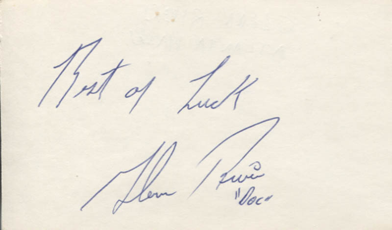 Image 1 for Glenn 'Doc' Rivers - Autograph Sentiment Signed - HFSID 347373