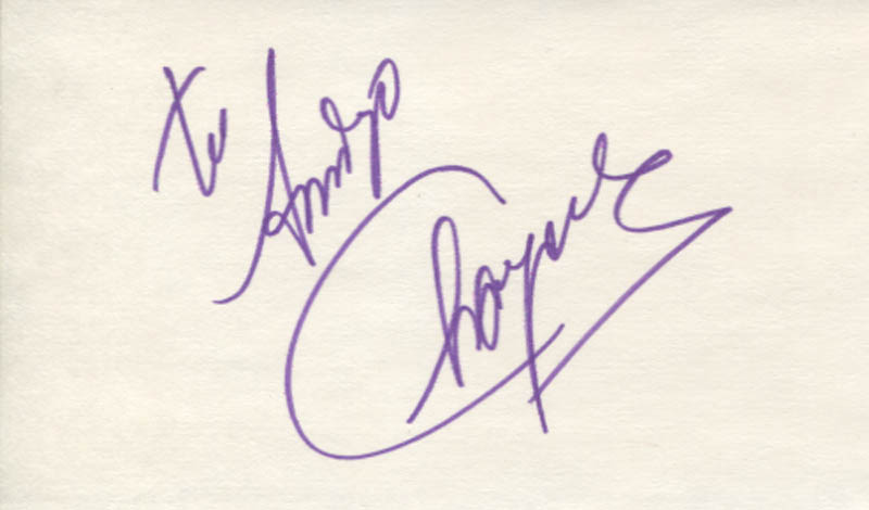 Image 1 for Chayanne - Inscribed Signature - HFSID 347470