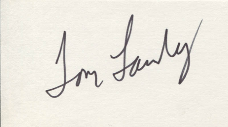Image 1 for Tom Landry - Autograph - HFSID 347688