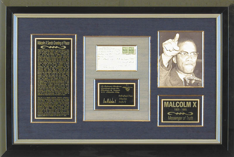 Image 1 for Malcolm X - Autograph Note Signed Circa 1955 - HFSID 347988