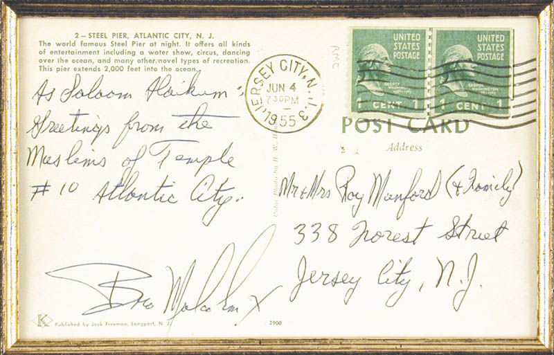 Image 3 for Malcolm X - Autograph Note Signed Circa 1955 - HFSID 347988