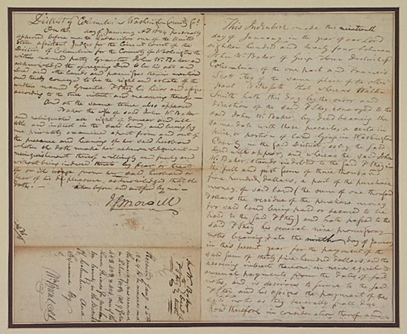 Image 4 for Francis Scott Key - Autograph Document Multi-signed 01/19/1824 - HFSID 348002
