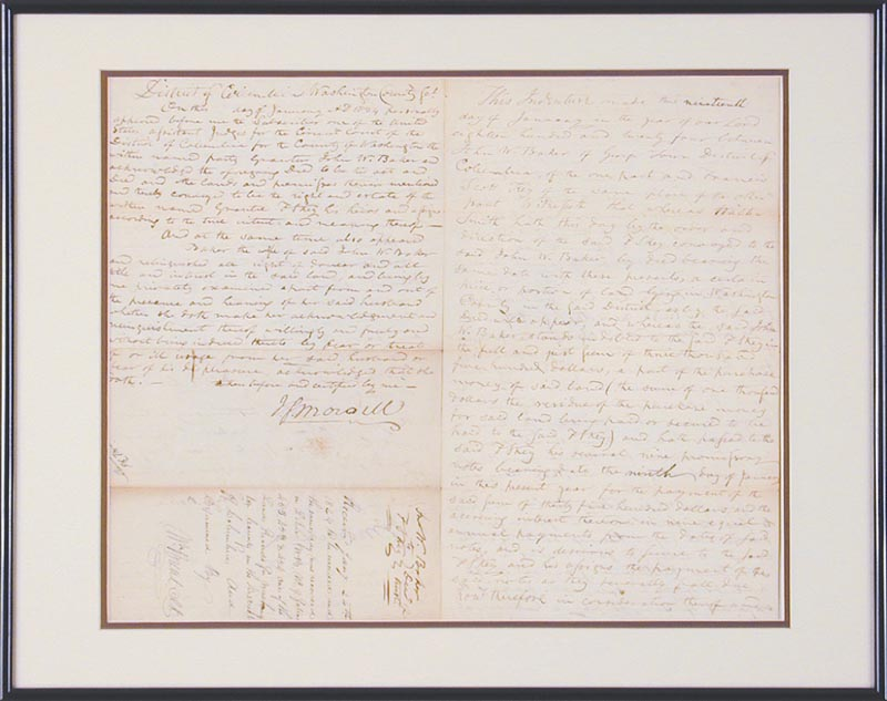 Image 5 for Francis Scott Key - Autograph Document Multi-signed 01/19/1824 - HFSID 348002
