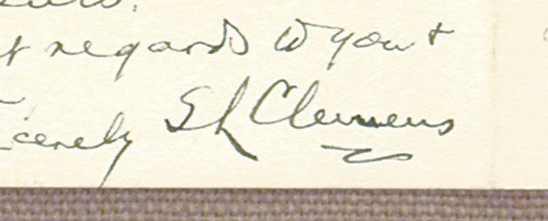 Image 4 for Samuel L. 'Mark Twain' Clemens - Autograph Letter Signed 02/20/1895 - HFSID 348018