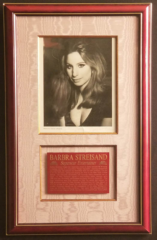 Image 1 for Barbra Streisand - Autographed Inscribed Photograph - HFSID 348034