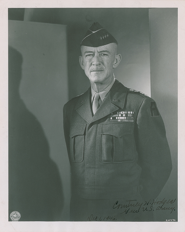 Image 1 for General Courtney H. Hodges - Autographed Signed Photograph - HFSID 348926
