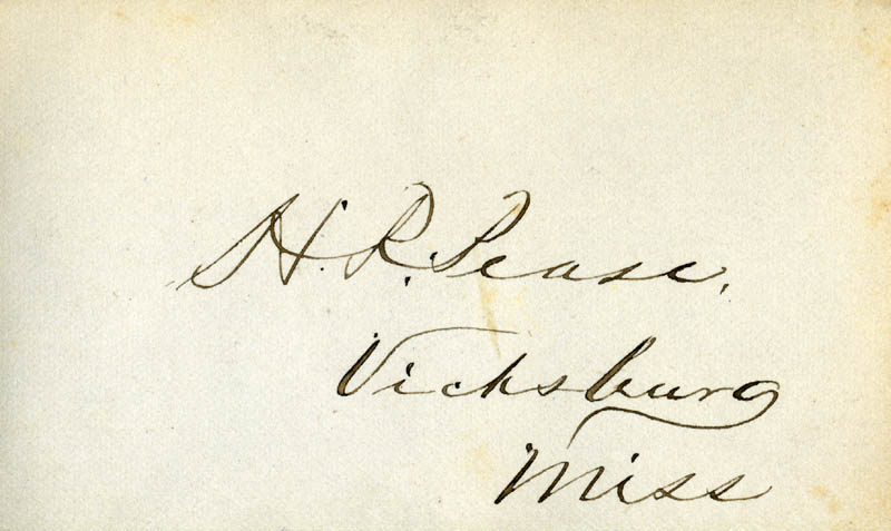 Image 1 for Henry Roberts Pease - Autograph - HFSID 34940