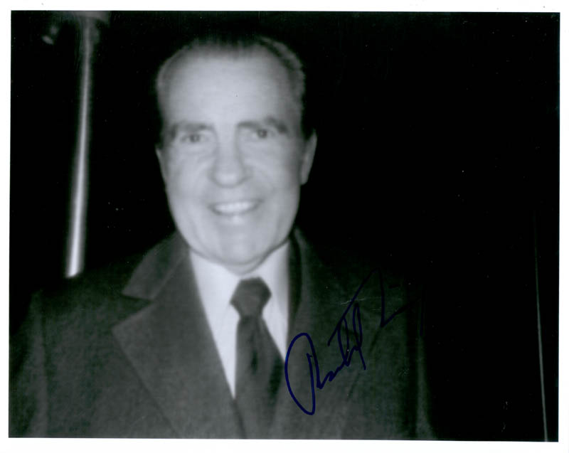 Image 1 for President Richard M. Nixon - Autographed Signed Photograph - HFSID 35059