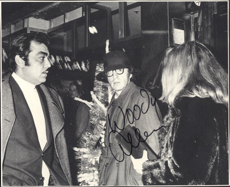 Image 1 for Woody Allen - Magazine Photograph Signed - HFSID 35193