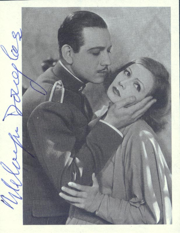 Image 1 for Melvyn Douglas - Magazine Photograph Signed - HFSID 35206