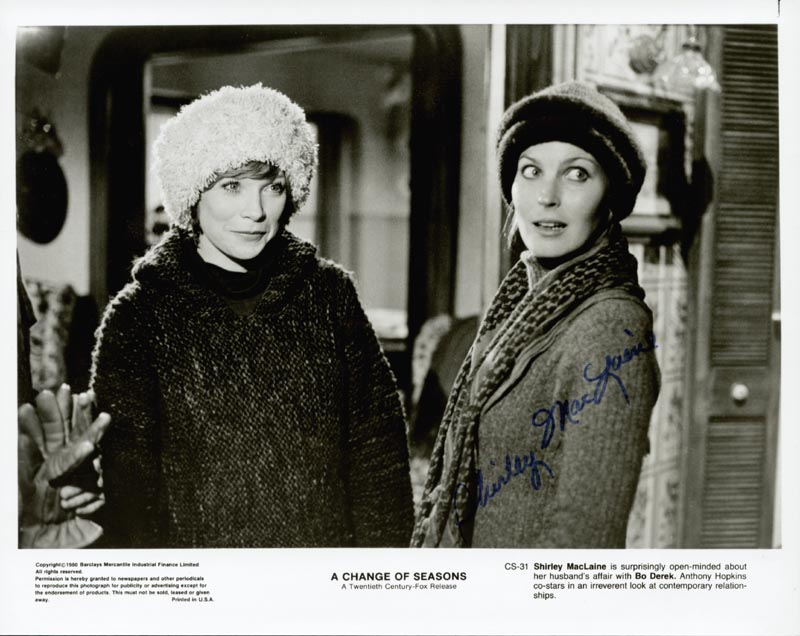 Image 1 for Shirley Maclaine - Autographed Signed Photograph - HFSID 35225