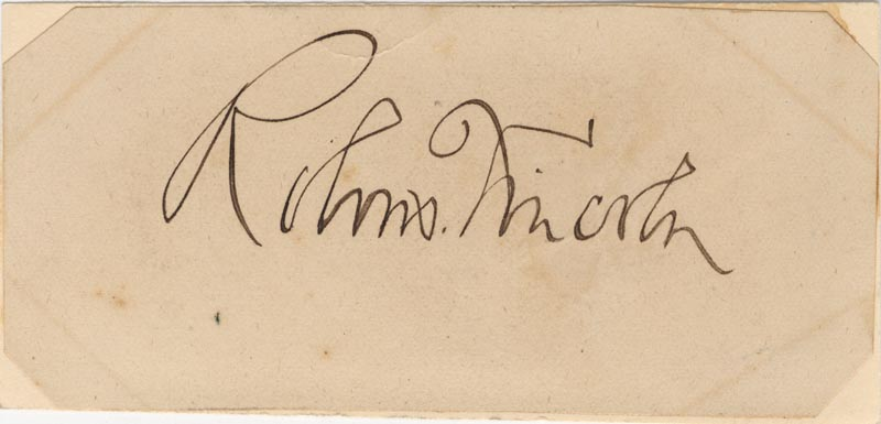 Image 1 for Robert Todd Lincoln - Autograph - HFSID 3528