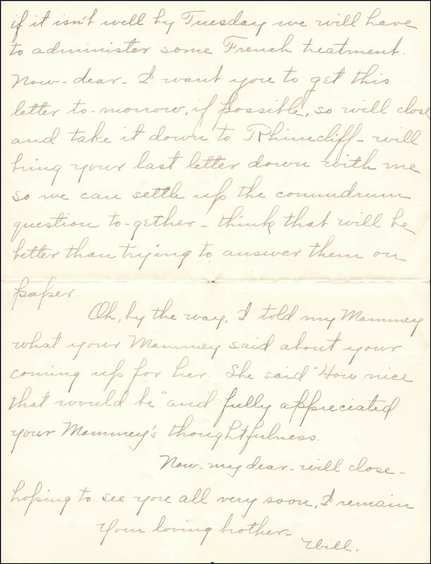 Image 1 for William Hiram Radcliffe - Autograph Letter Signed 01/03/1897 - HFSID 35364
