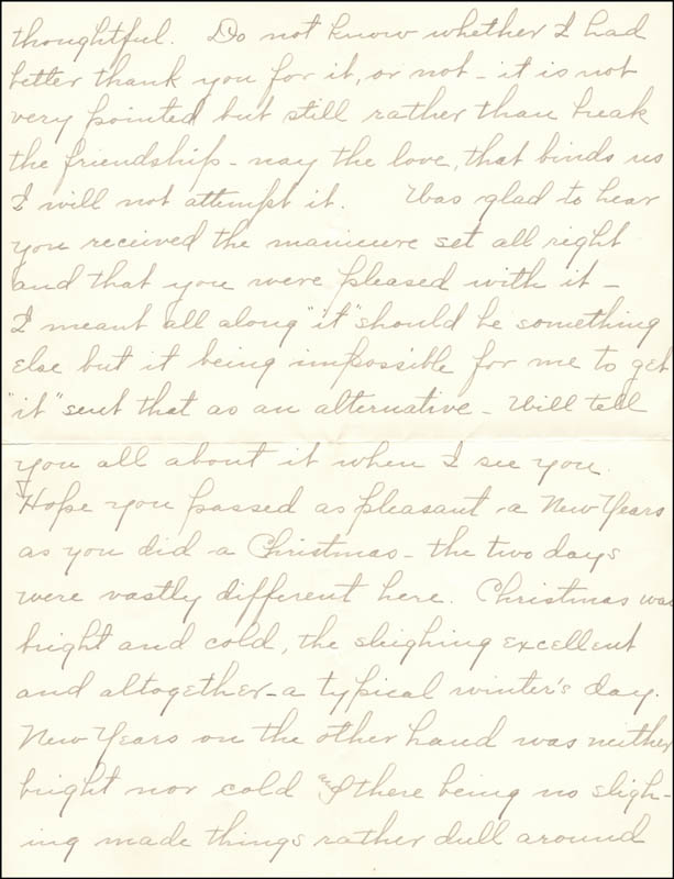 Image 4 for William Hiram Radcliffe - Autograph Letter Signed 01/03/1897 - HFSID 35364