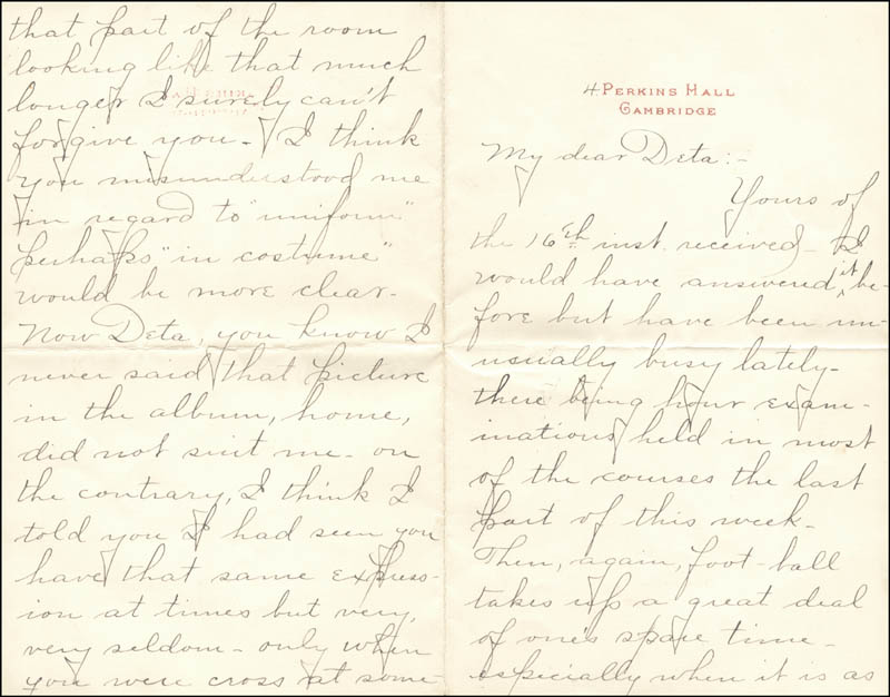 Image 3 for William Hiram Radcliffe - Autograph Letter Signed 10/31/1894 - HFSID 35370