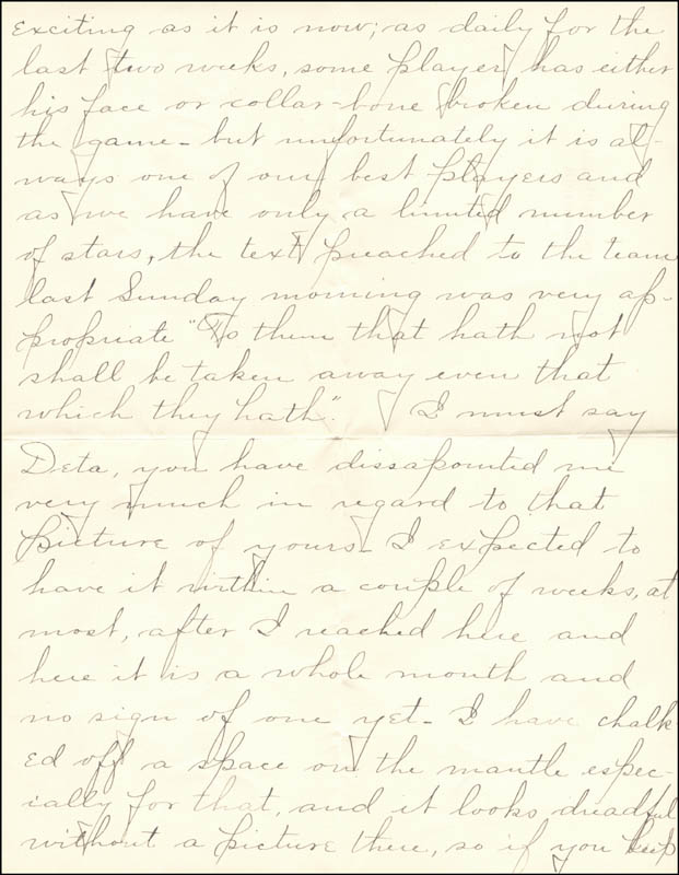 Image 4 for William Hiram Radcliffe - Autograph Letter Signed 10/31/1894 - HFSID 35370
