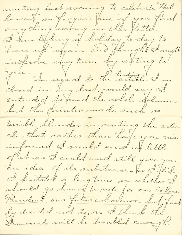 Image 7 for William Hiram Radcliffe - Autograph Letter Signed 10/31/1894 - HFSID 35370
