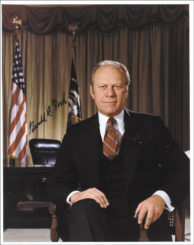 Image 1 for President Gerald R. Ford - Autographed Signed Photograph - HFSID 35413