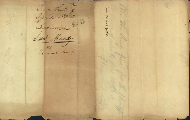 Image 5 for David R. Atchison - Autograph Document Signed 04/30/1832 - HFSID 35595