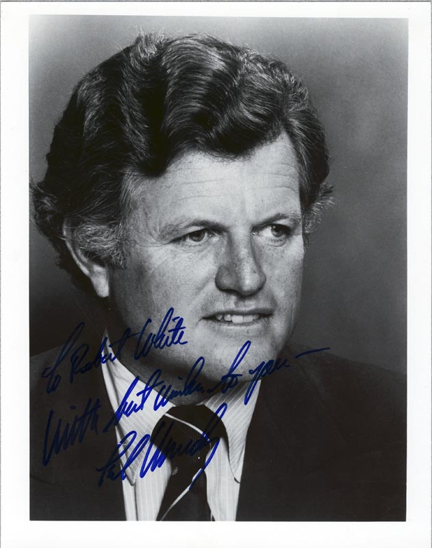 Image 1 for Edward 'Ted' Kennedy - Autographed Inscribed Photograph 06/20/1979 - HFSID 35624