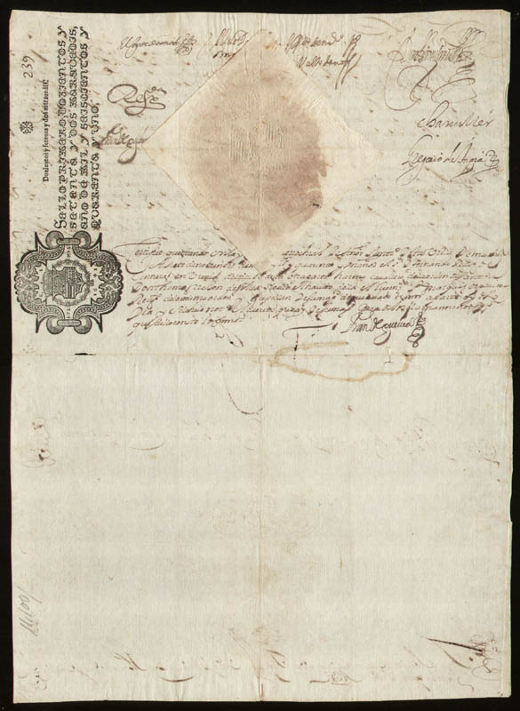 Image 3 for King Philip IV (Spain) - Document Signed 11/06/1641 with co-signers - HFSID 35670