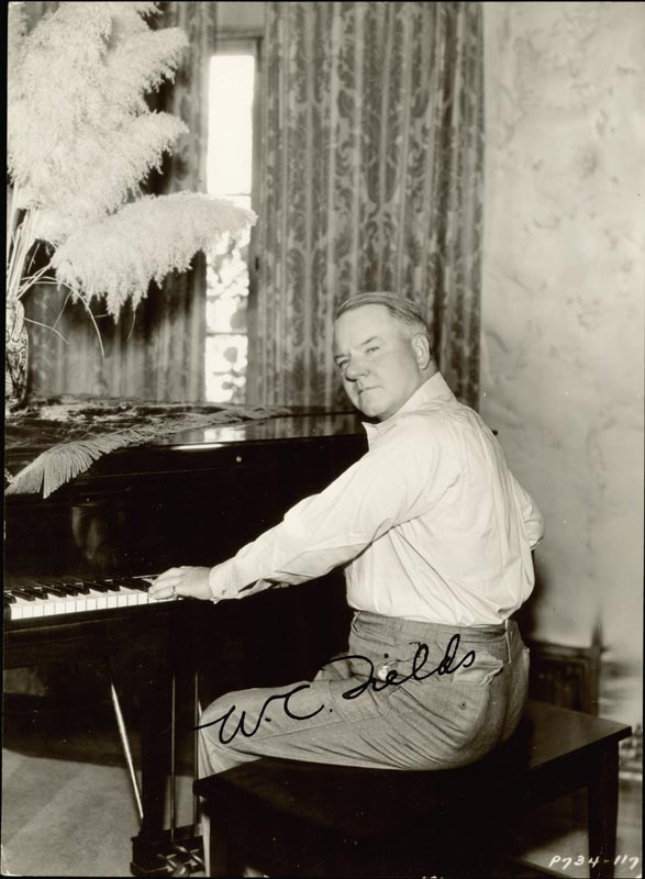 Image 1 for W. C. Fields - Autographed Signed Photograph - HFSID 357