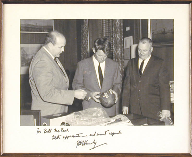 Image 3 for Robert F. Kennedy - Autographed Inscribed Photograph - HFSID 35849