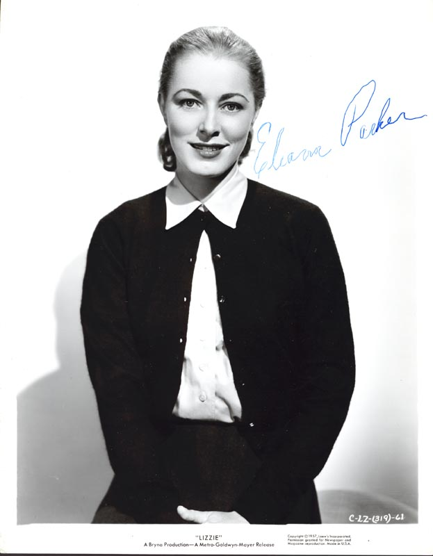 Image 1 for Eleanor Parker - Autographed Signed Photograph - HFSID 35996