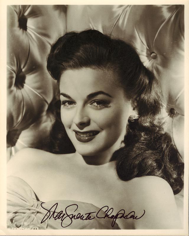 Image 1 for Marguerite Chapman - Autographed Signed Photograph - HFSID 36247