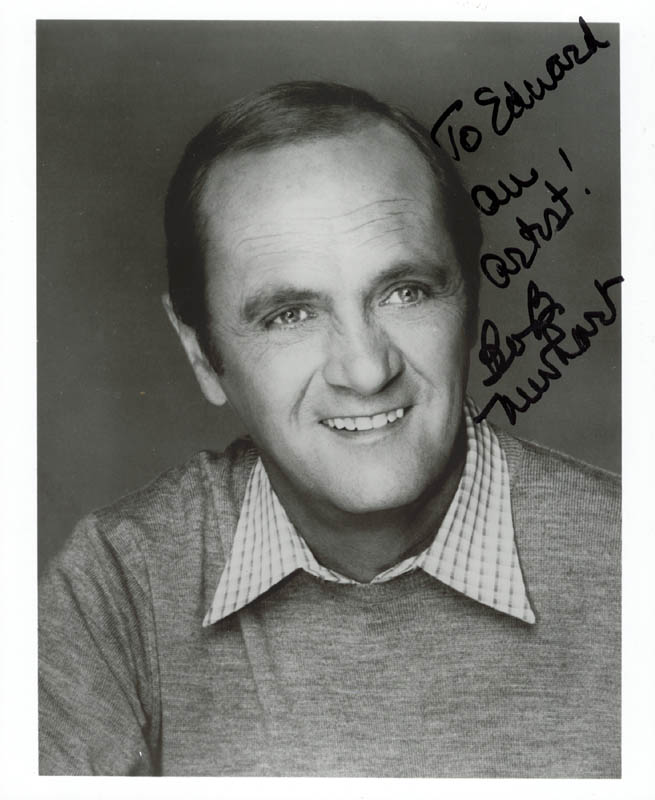 Image 1 for Bob Newhart - Autographed Inscribed Photograph - HFSID 36572