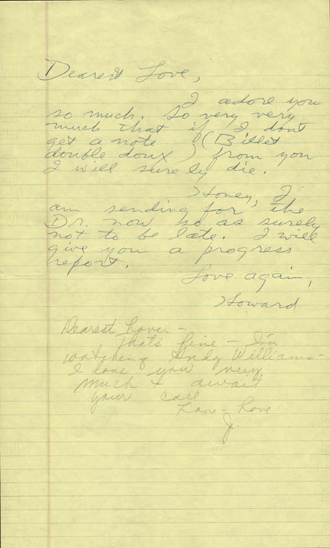 Image 1 for Howard Hughes - Autograph Letter Signed co-signed by: Jean Peters - HFSID 36722