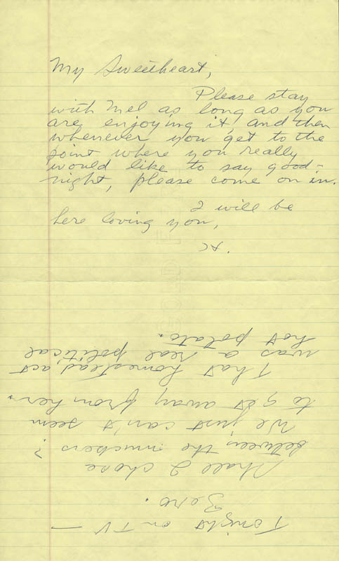 Image 3 for Howard Hughes - Autograph Letter Signed co-signed by: Jean Peters - HFSID 36745