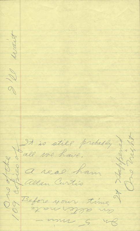 Image 3 for Howard Hughes - Autograph Letter Signed co-signed by: Jean Peters - HFSID 36751
