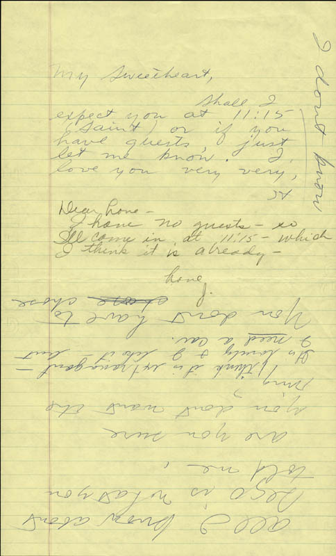 Image 1 for Howard Hughes - Autograph Letter Signed co-signed by: Jean Peters - HFSID 36764