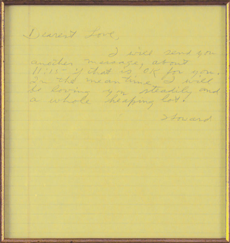 Image 3 for Howard Hughes - Autograph Letter Signed co-signed by: Jean Peters - HFSID 36776