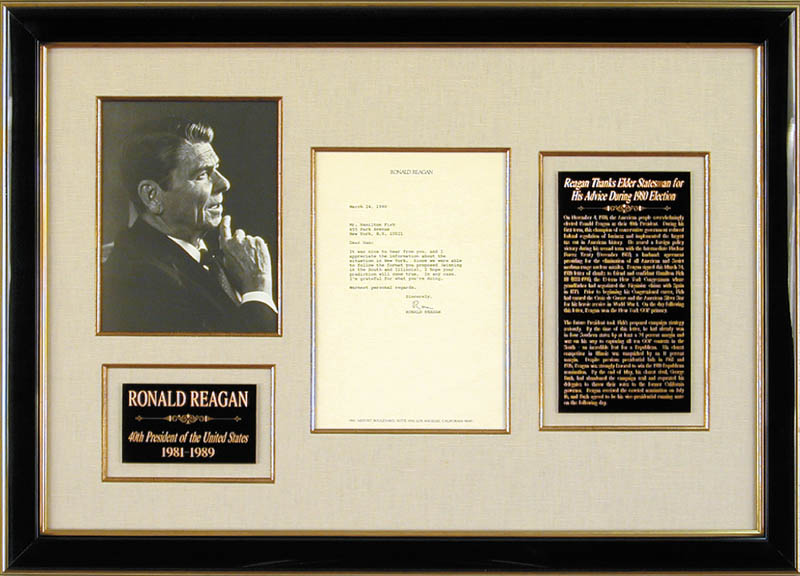 Image 1 for President Ronald Reagan - Typed Letter Signed 03/24/1980 - HFSID 36820