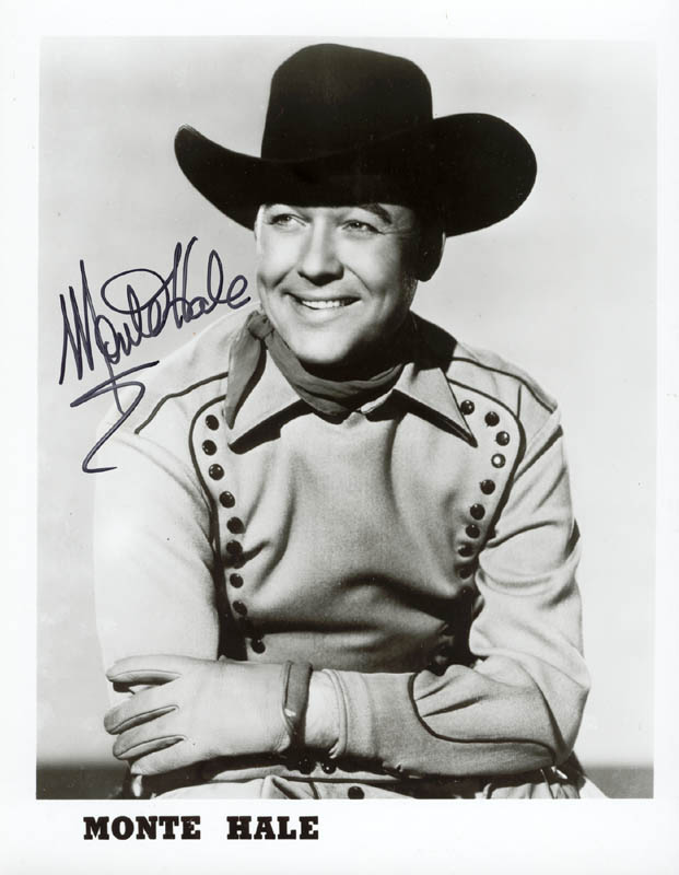 Image 1 for Monte Hale - Autographed Signed Photograph - HFSID 36985