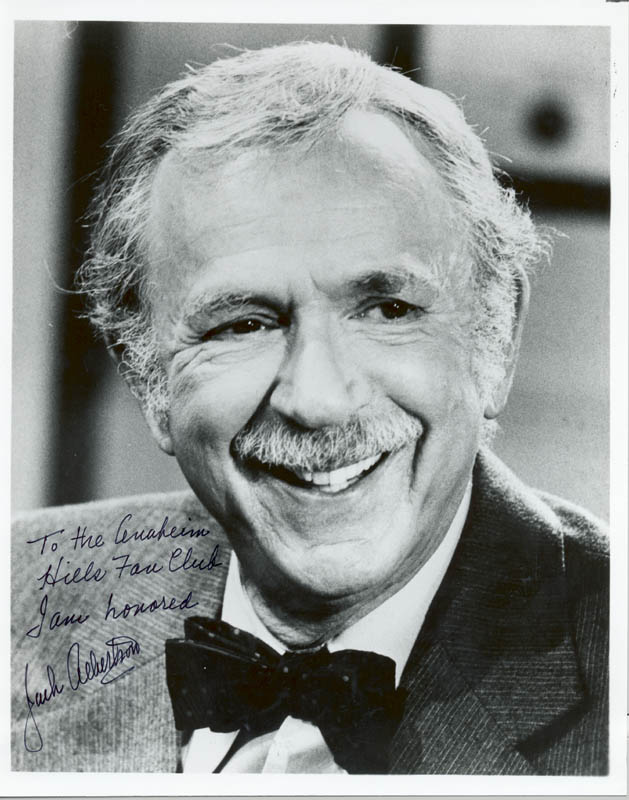 Image 1 for Jack Albertson - Autographed Inscribed Photograph - HFSID 37086