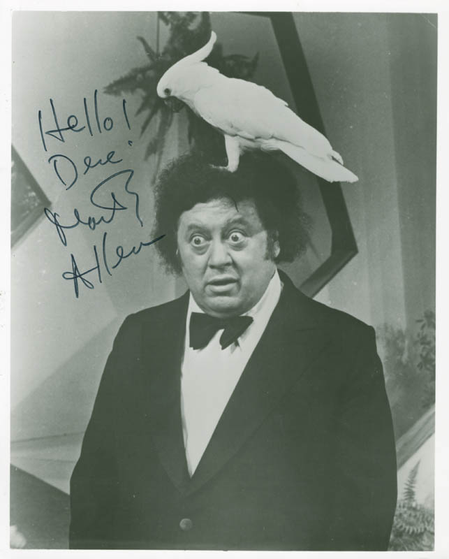 Image 1 for Marty Allen - Autographed Signed Photograph - HFSID 37186