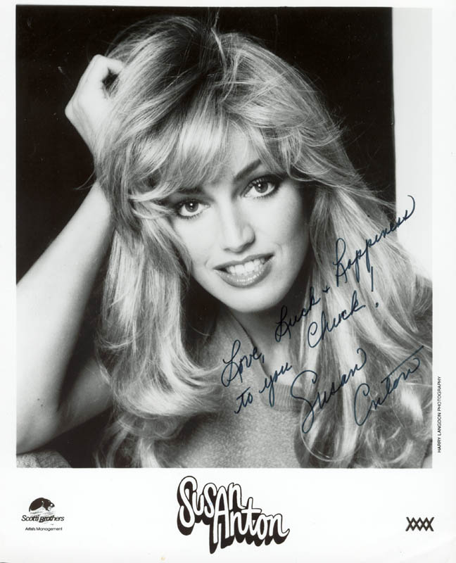 Image 1 for Susan Anton - Autographed Inscribed Photograph - HFSID 37273