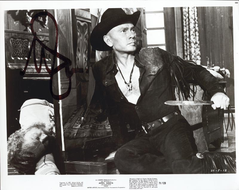 Image 1 for Yul Brynner - Autographed Signed Photograph - HFSID 37278