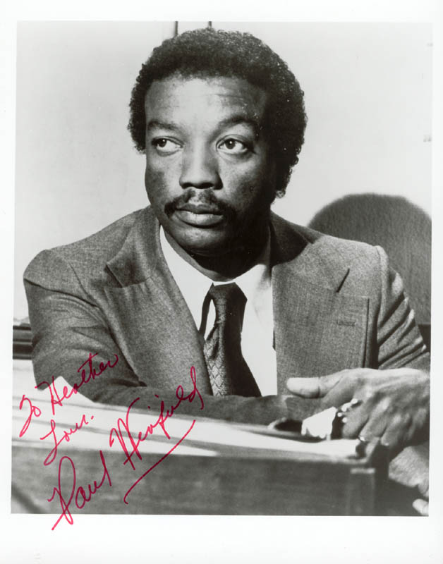 Image 1 for Paul Winfield - Autographed Inscribed Photograph - HFSID 37306
