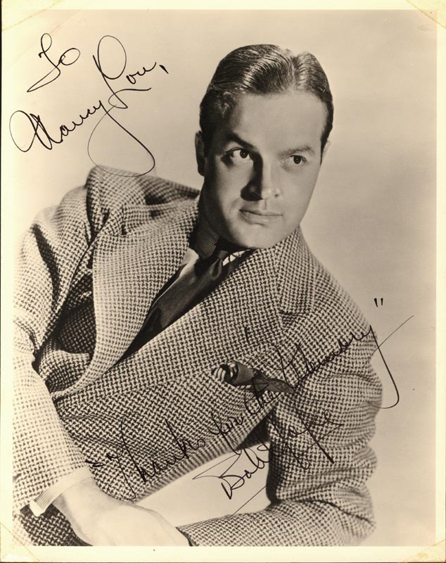 Image 1 for Bob Hope - Autographed Inscribed Photograph - HFSID 37353