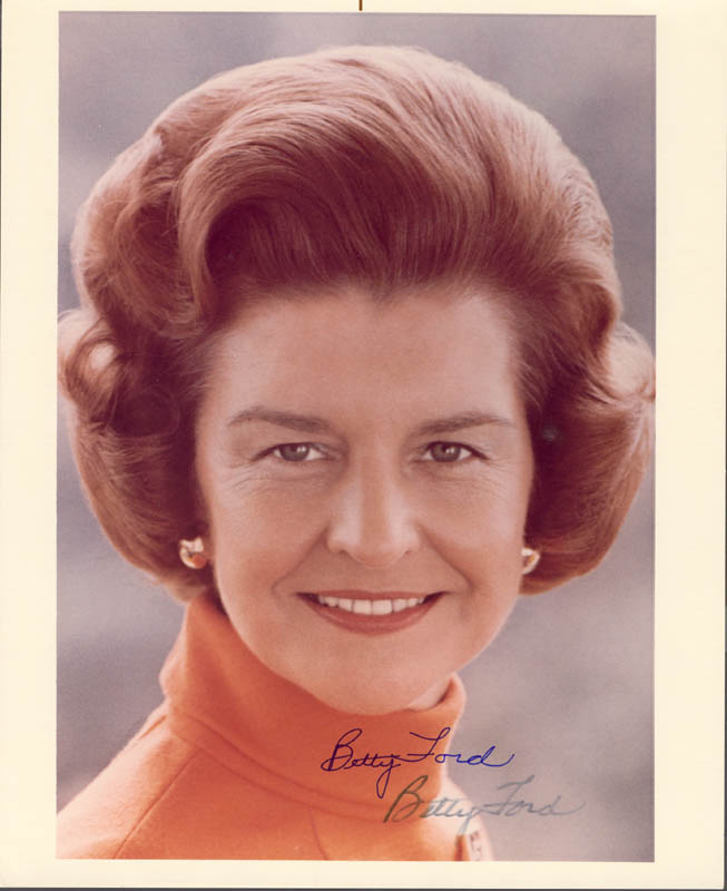 Image 1 for First Lady Betty Ford - Autographed Signed Photograph - HFSID 37358