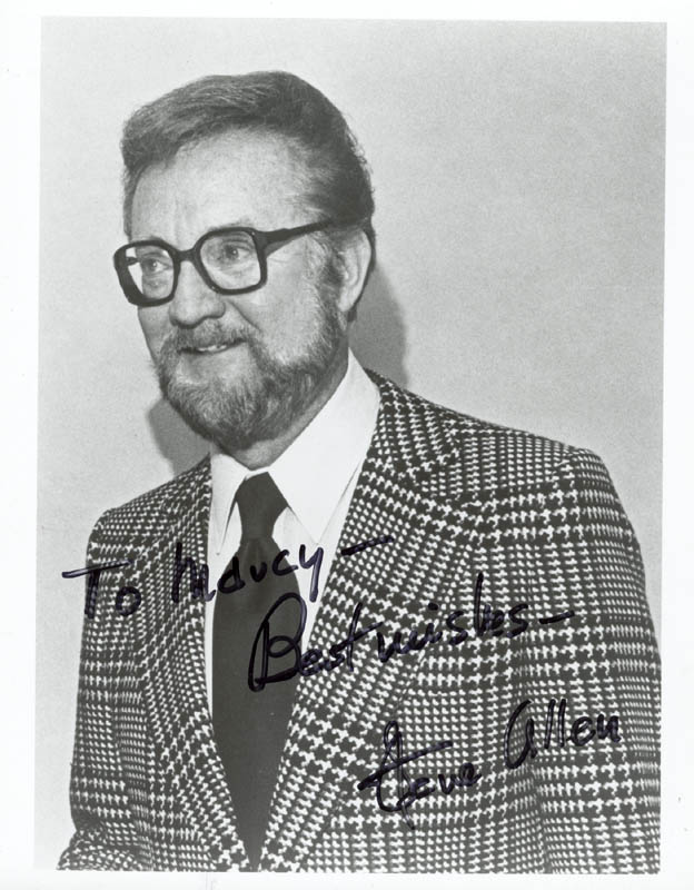 Image 1 for Steve Allen - Autographed Inscribed Photograph - HFSID 37374