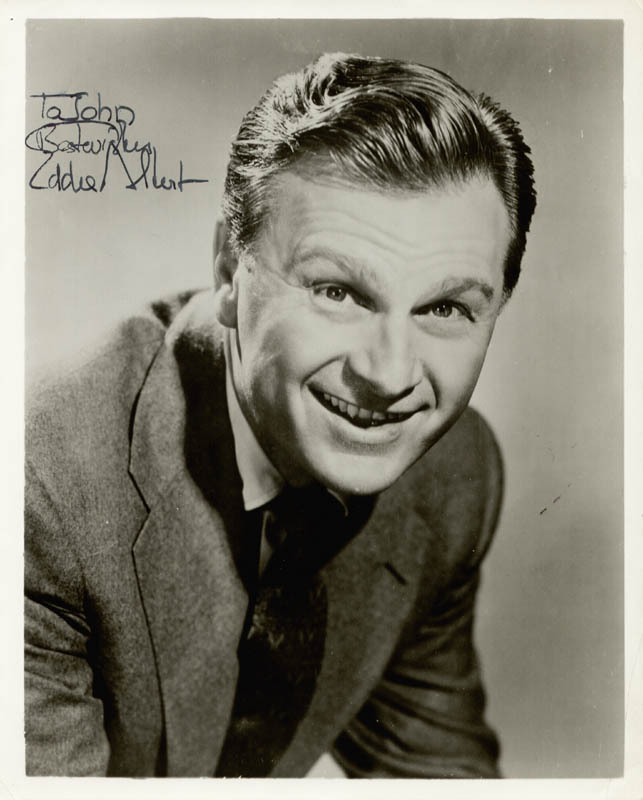 Image 1 for Eddie Albert - Autographed Inscribed Photograph - HFSID 37376