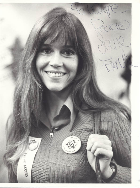 Image 1 for Jane Fonda - Autographed Inscribed Photograph - HFSID 37416